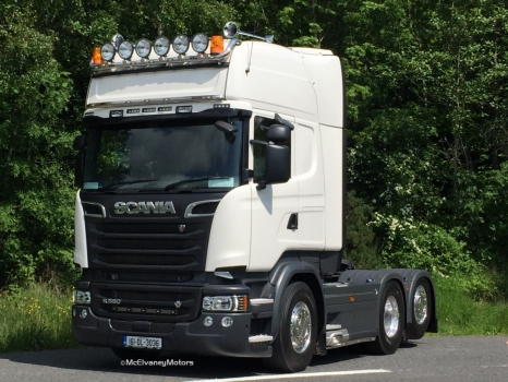 New Scania R580 for James Dunne