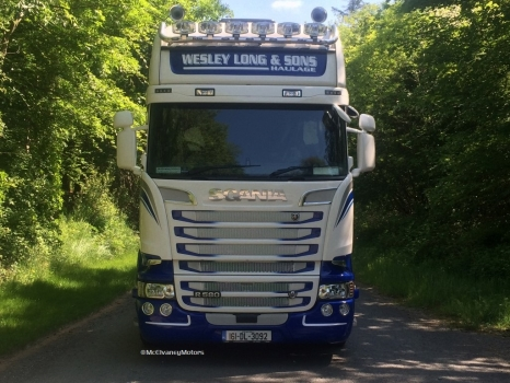 New Scania R580 for Wesley Long