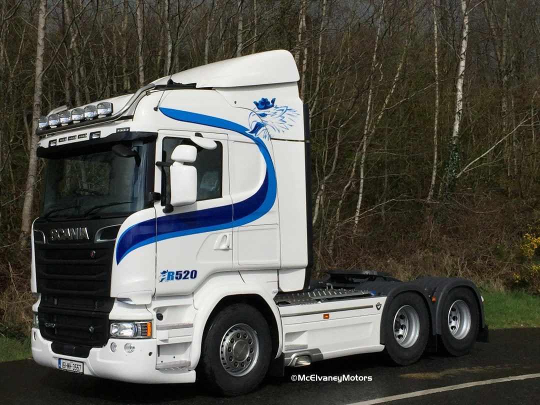 New Scania R520 For Barry Reilly