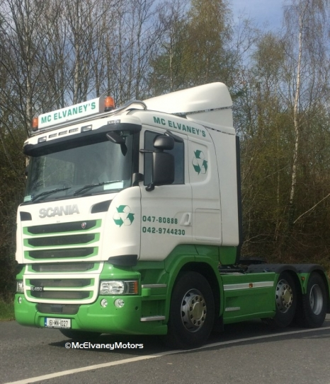 McElvaney Waste Purchases New Scania R450