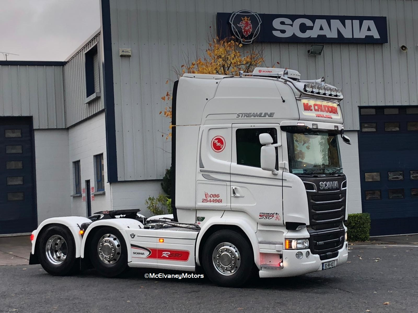 Stunning New Scania R580 for Malachy McCrudden