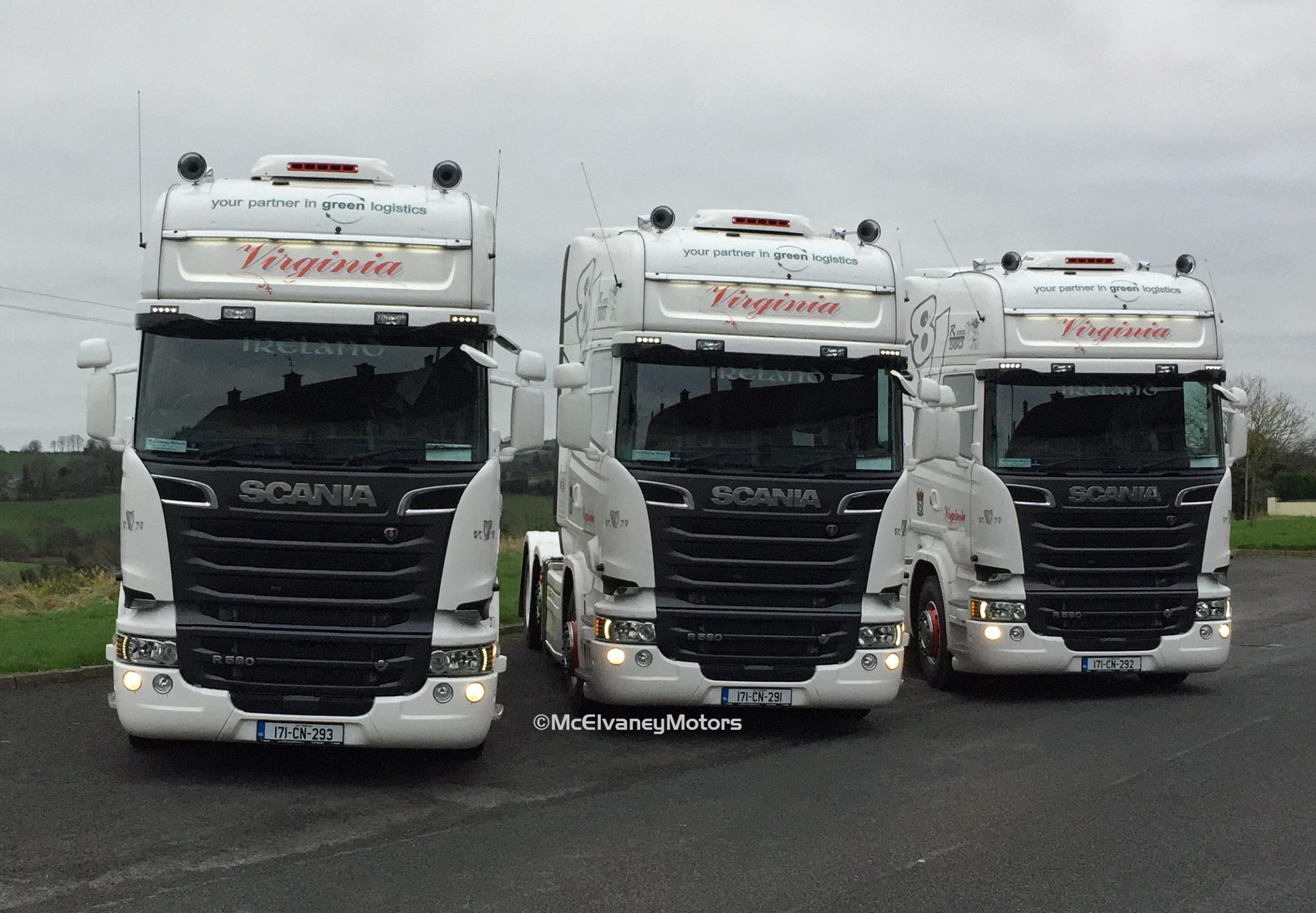 THREE New Scania R580s for Virginia Transport