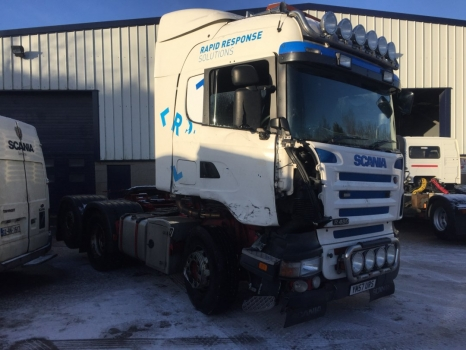 2008 Scania R480, Kelsa Bars