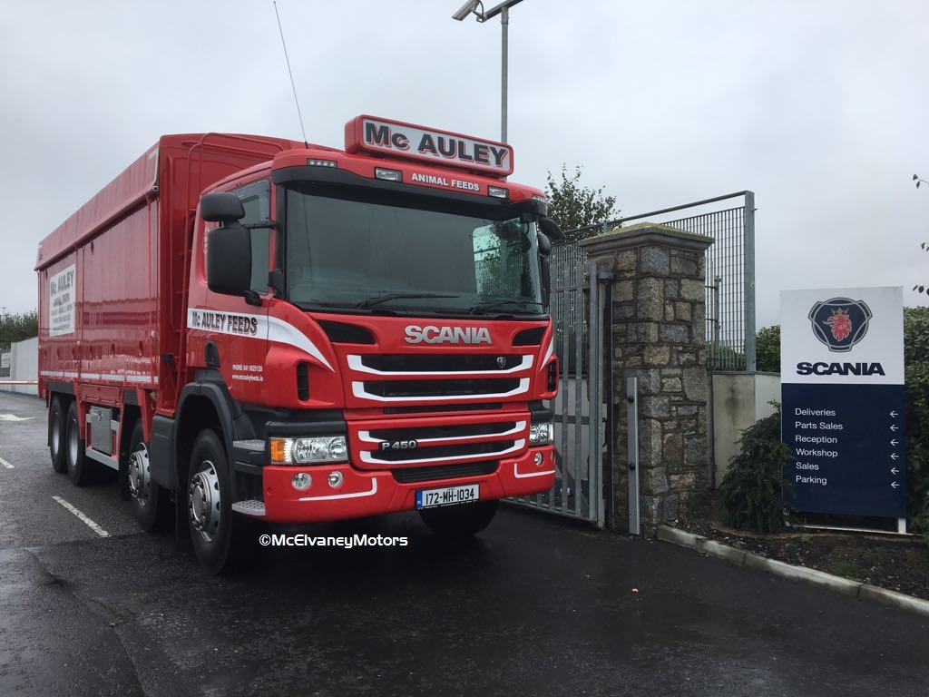 A Second Scania for McAuley Feeds!
