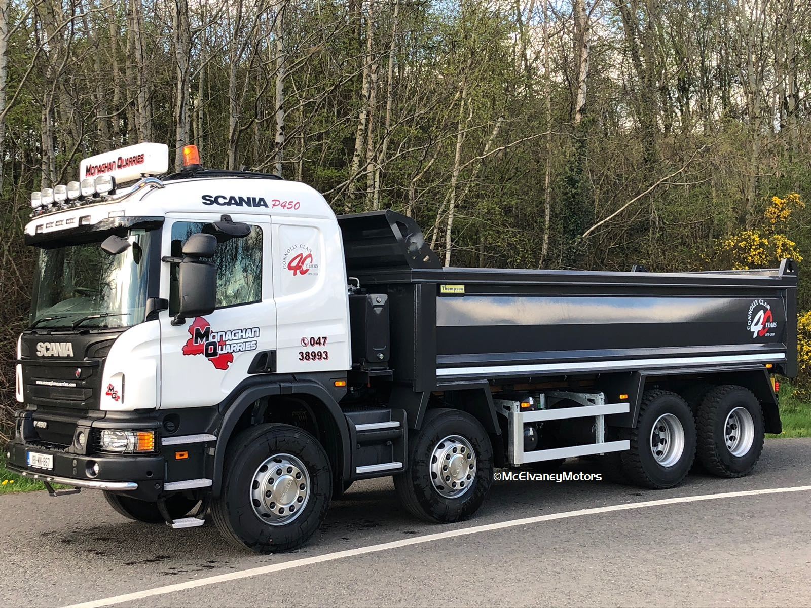 Monaghan Quarries Choose New Scania P450