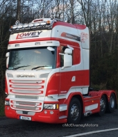 New Scania R560 for Lowey Transport