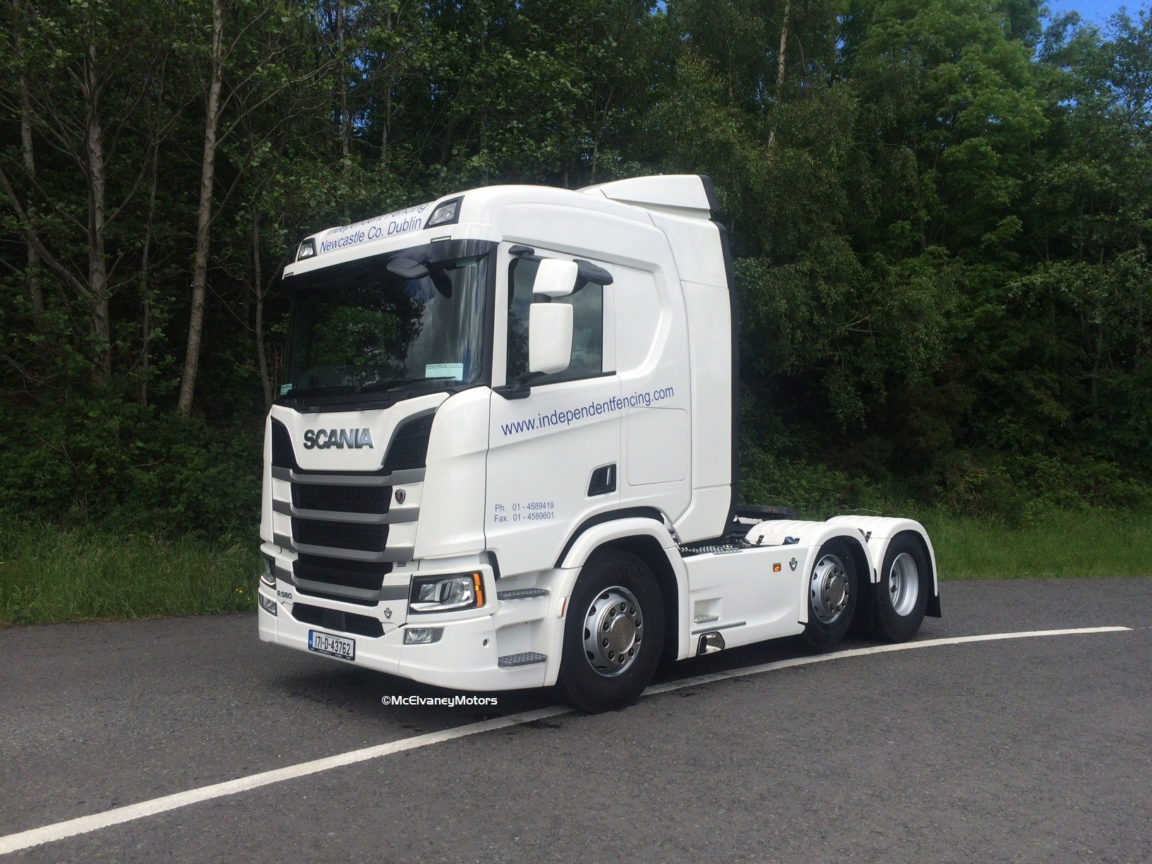 New Generation Scania for Independent Fencing