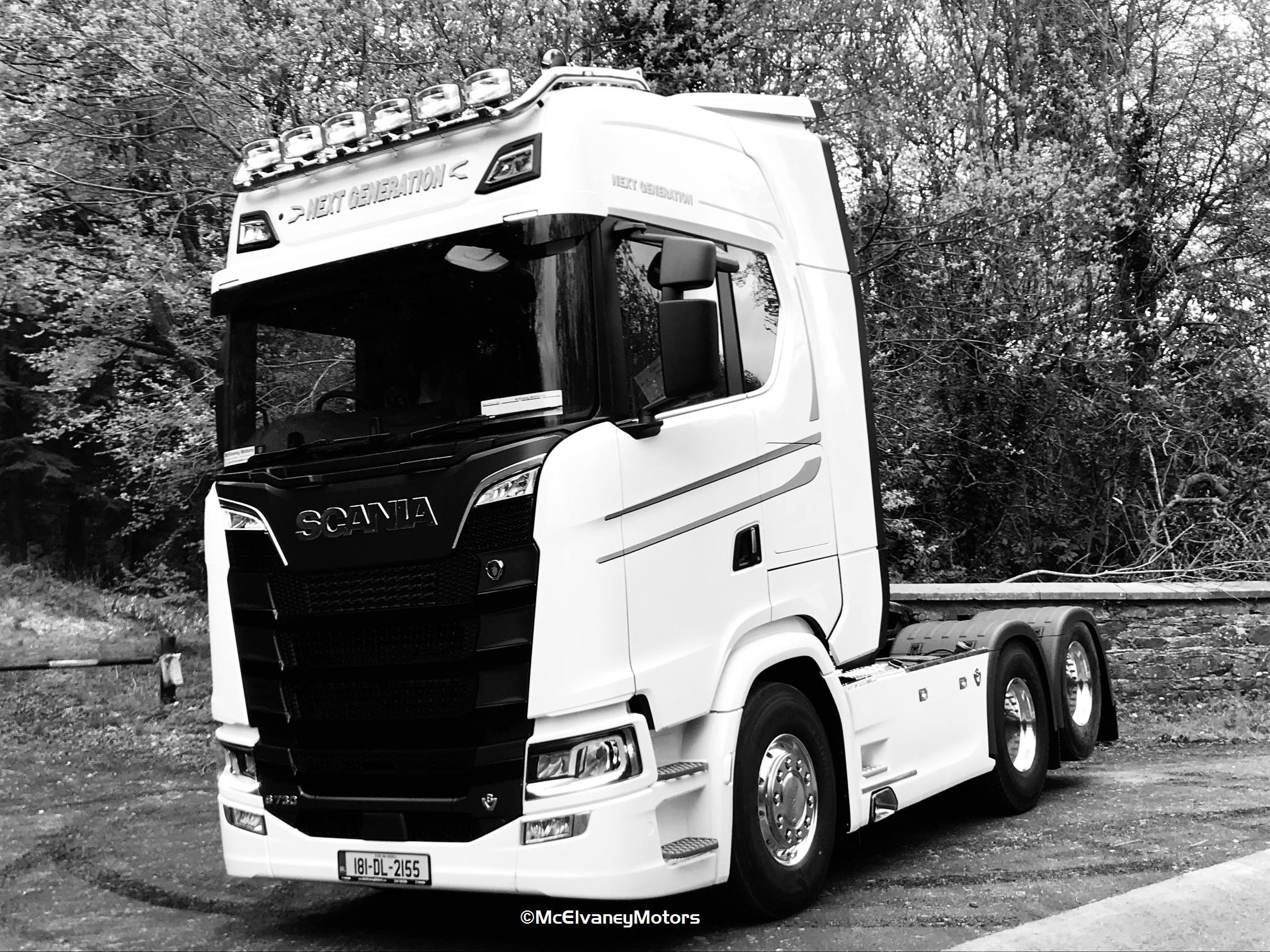 Beautiful New Gen Scania S730 for the DM Group