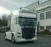 New Scania R730 for Ernest McCoach