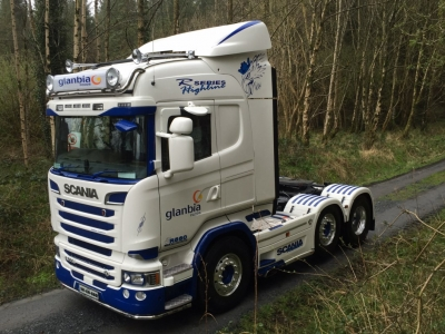 New Scania R560 for Philip Cahill