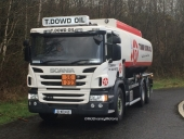 New Scania P410 for Tommy Dowd Oil!