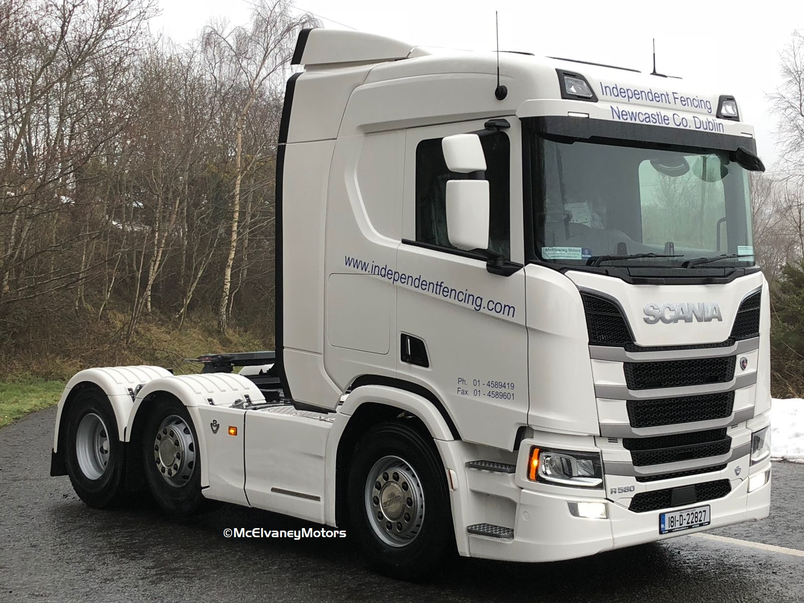 New Gen Scania for Independent Fencing
