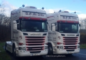 Another 2 New Scanias for DG McArdle
