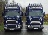 Two New Scanias for Matthews