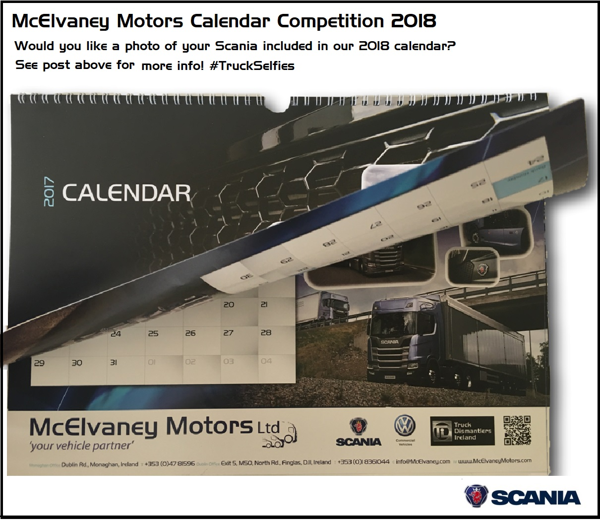 Launch of McElvaney Motors Calendar Competition