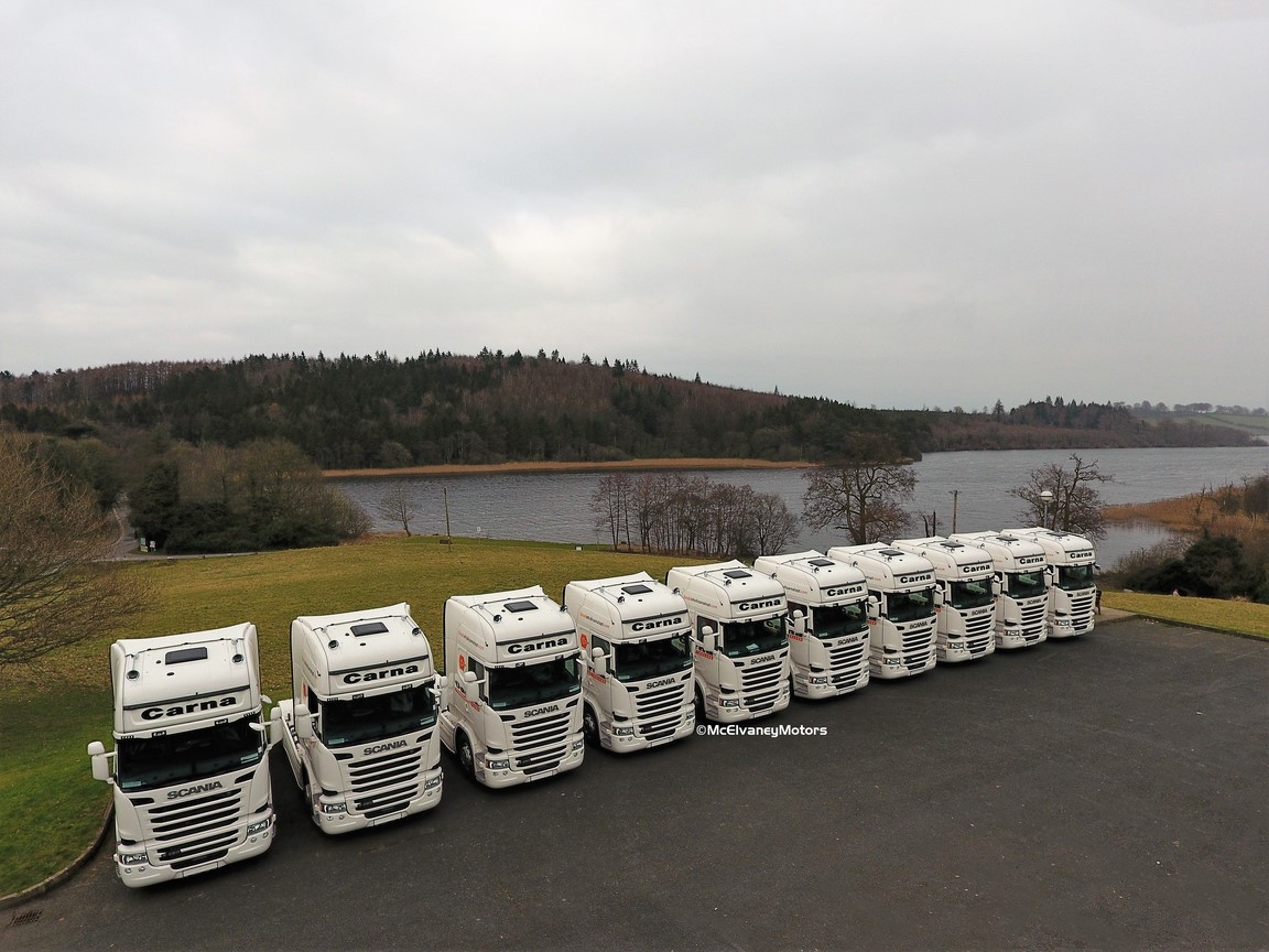 Carna Transport Purchases 10 New Scania R450 Toplines