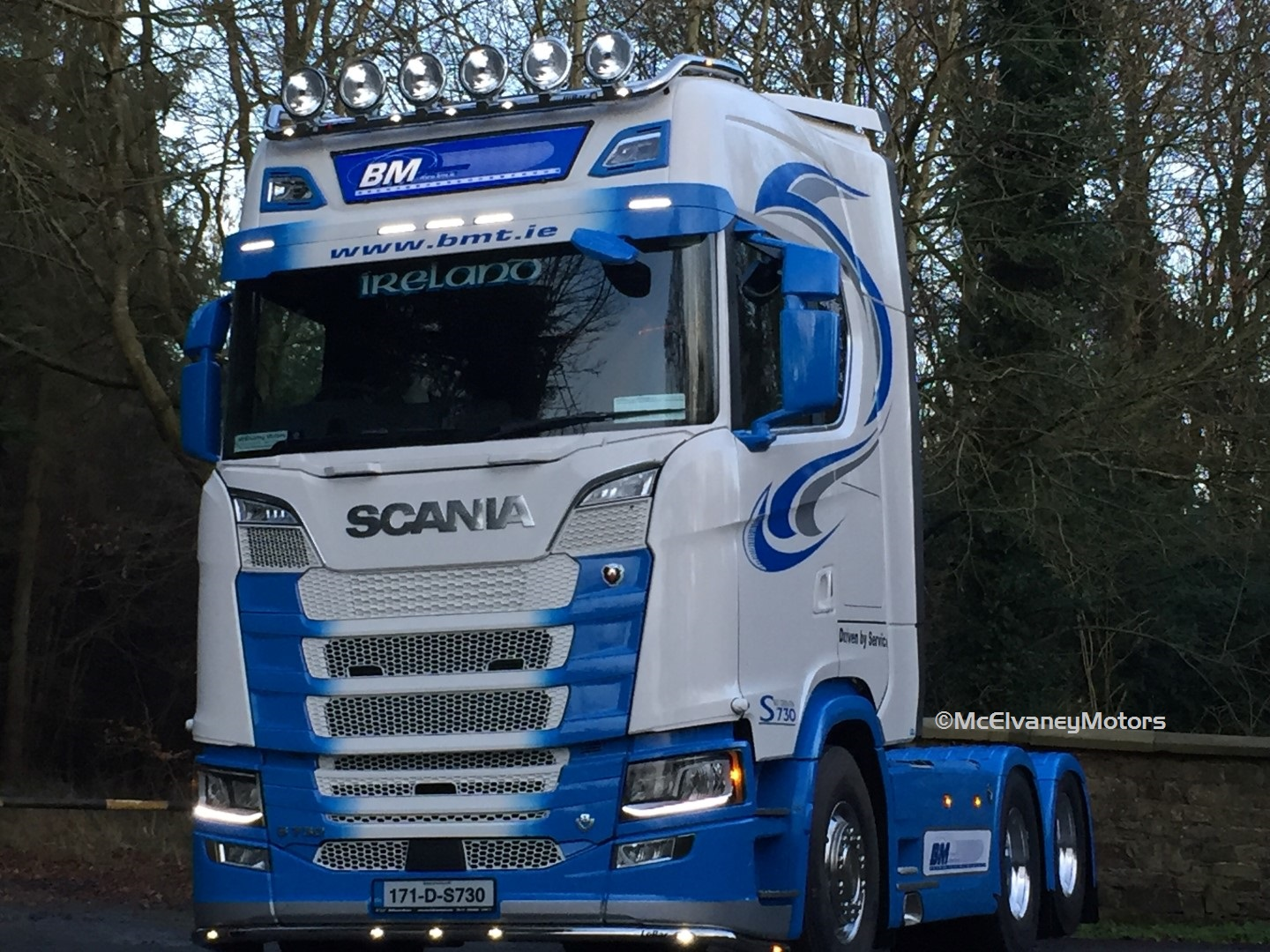New Generation Scania S730 for BM Transport