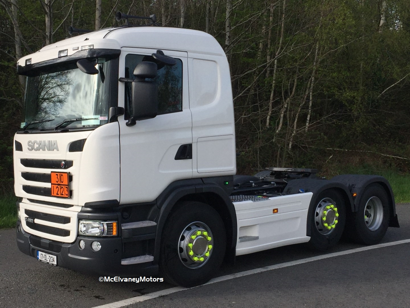 K. McMahon Haulage Chooses new Scania R580