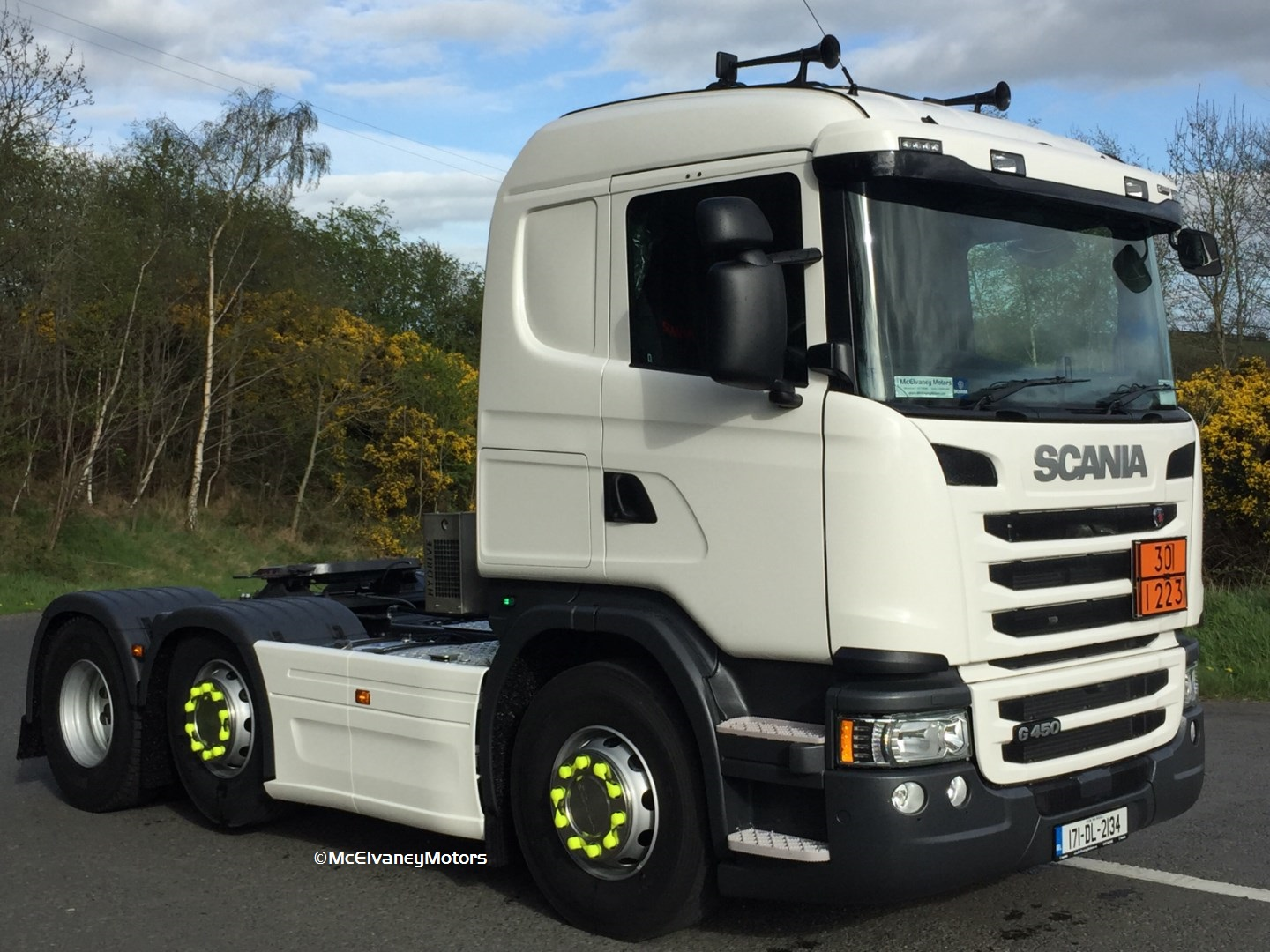 Donegal Oil Chooses Scania G450