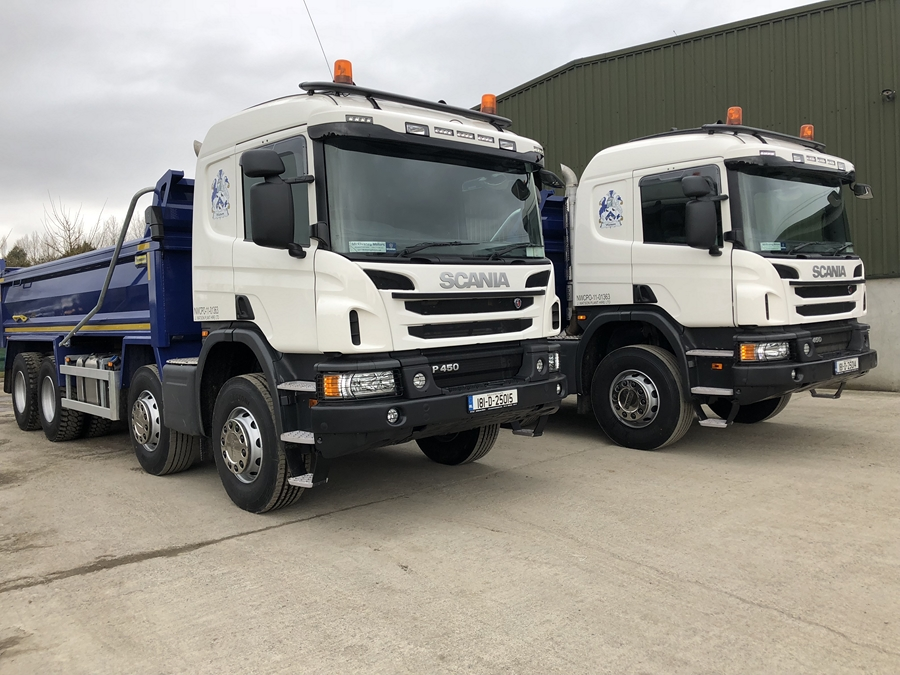 Two New Scania P450s for Watson Plant Hire