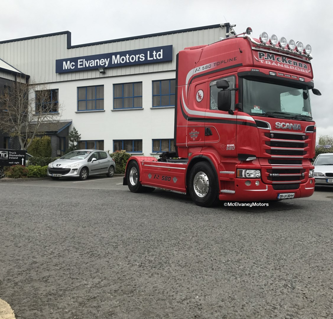 Beautifully Restored 2005 Scania R580 for Paul McKenna