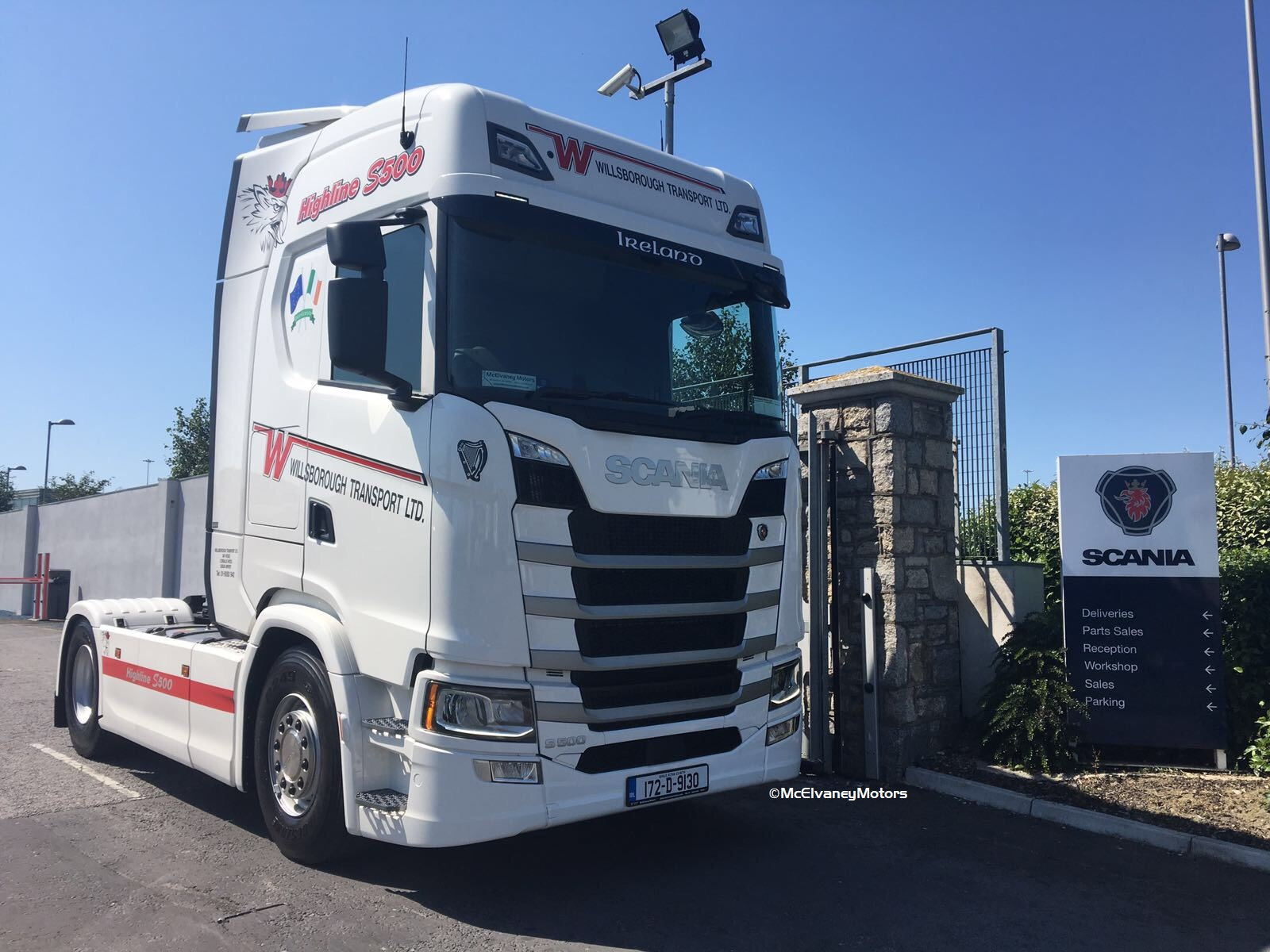 New Generation Scania S500 for Willsborough Transport!