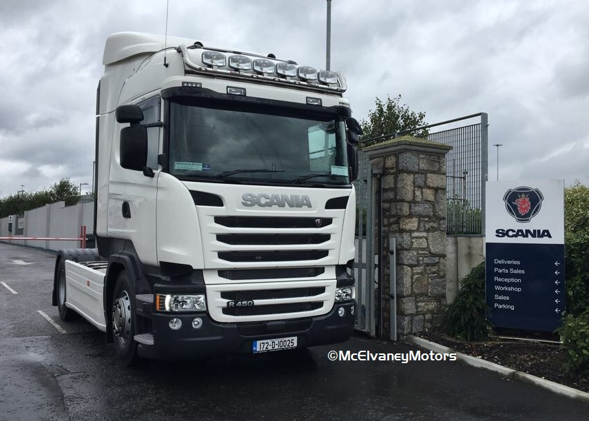 New Scania R450 for SFT Transport