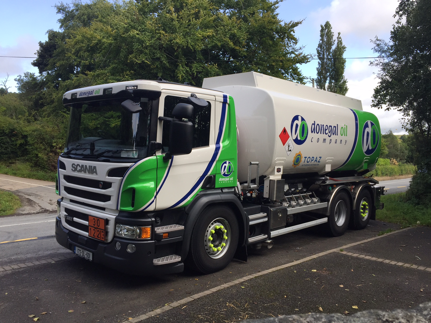 Donegal Oil Choose New Scania P320