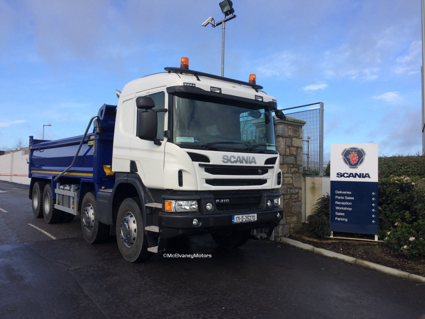 Another New Scania P410 Tipper for John Watson Plant Hire