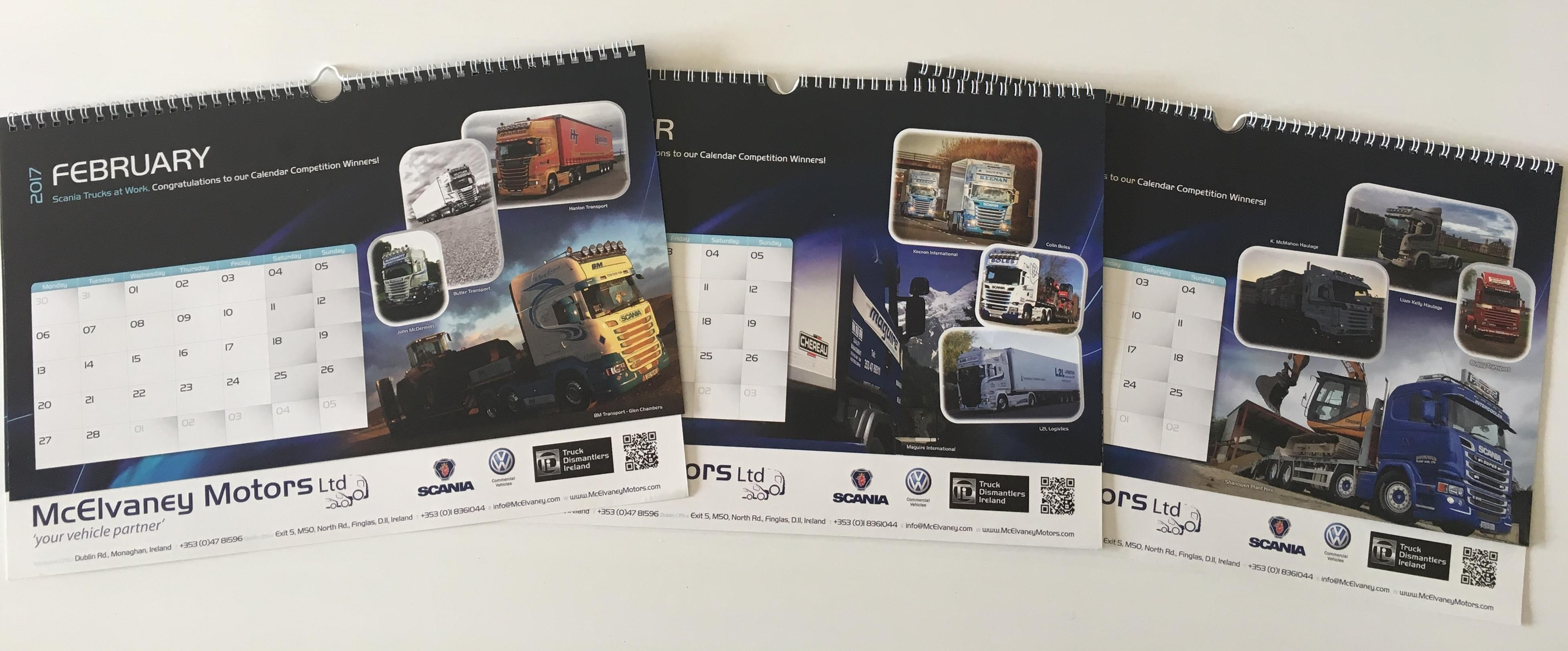 Final Reminder of Calendar Competition Entries