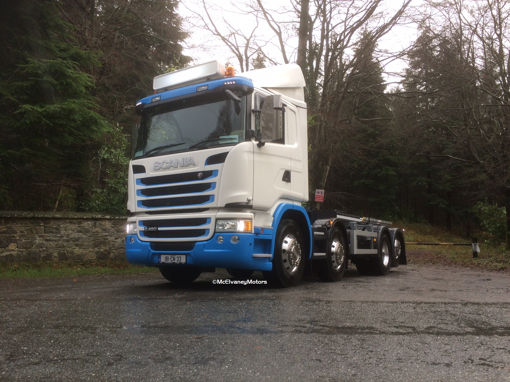 New Scania G490 for Wilton Waste