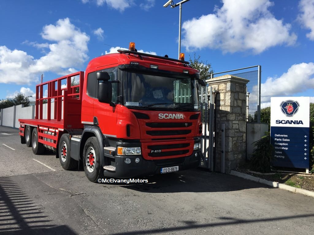 Carlen Glass Chooses New Scania P410