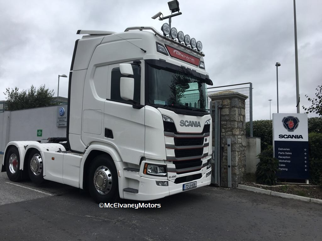 Beautiful New Gen Scania for Browne Transport