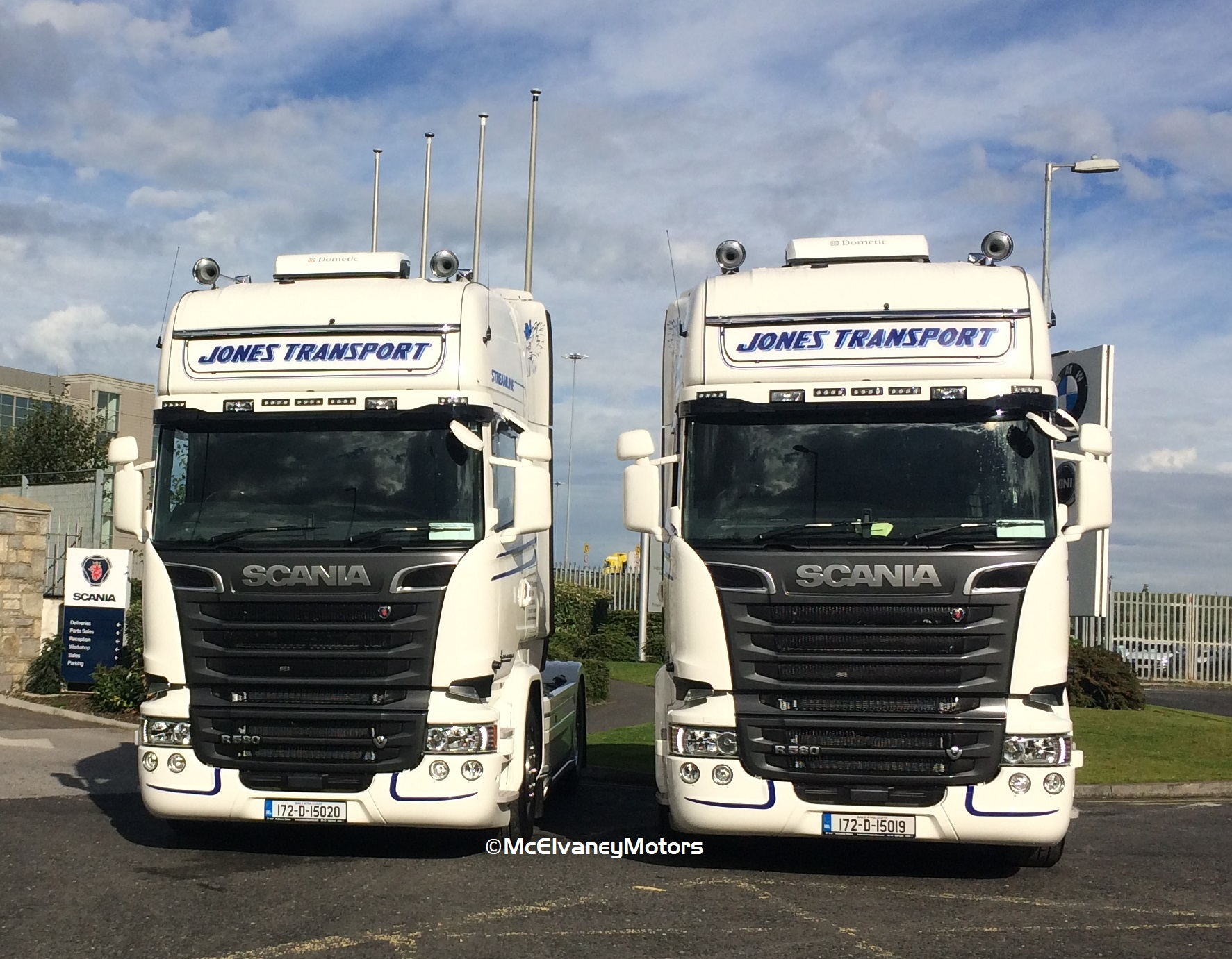Two New Scania R580s for Jones Transport