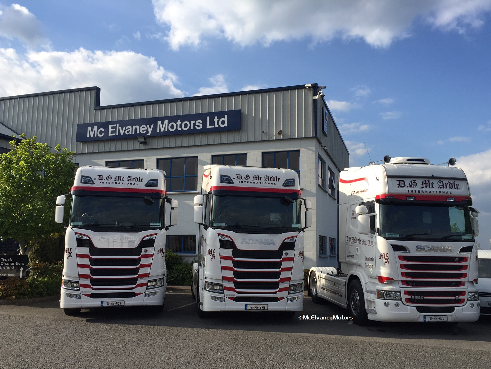 Another Three New Scanias for DG McArdle
