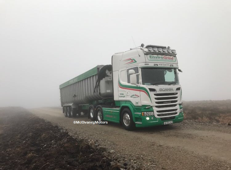 New Scania R580 for EnviroGrind