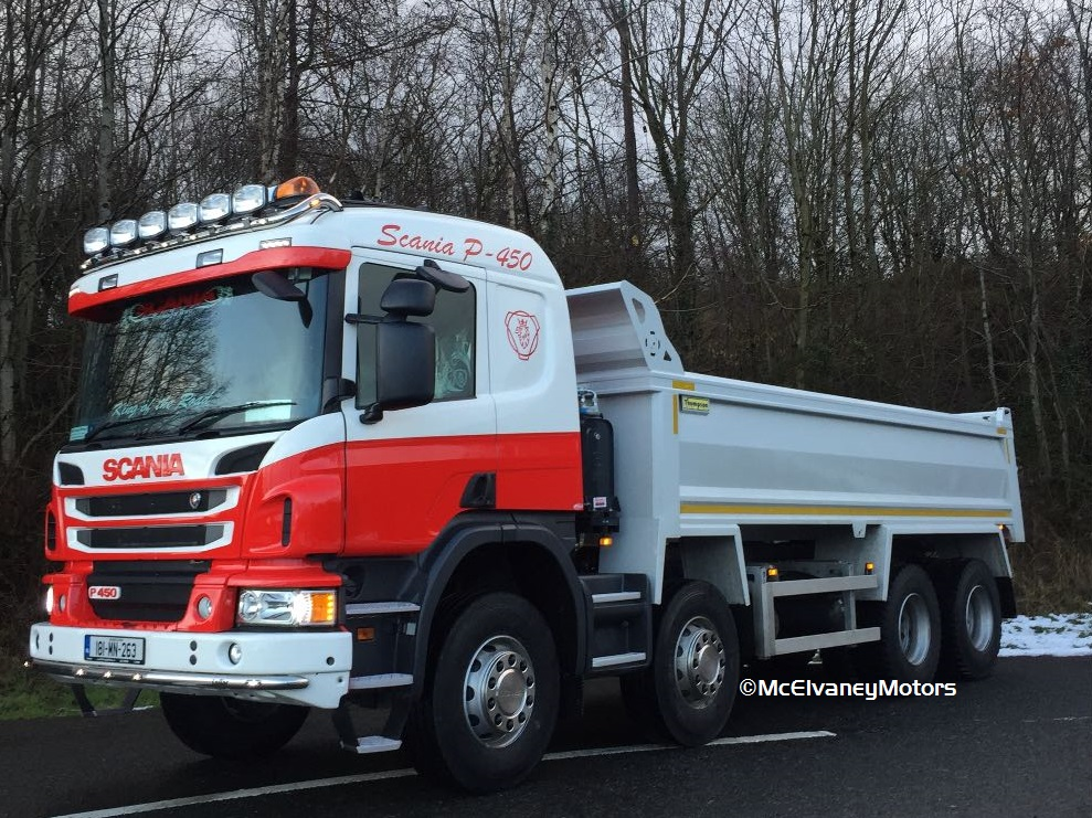 Tadhg Daly Chooses New Scania P450