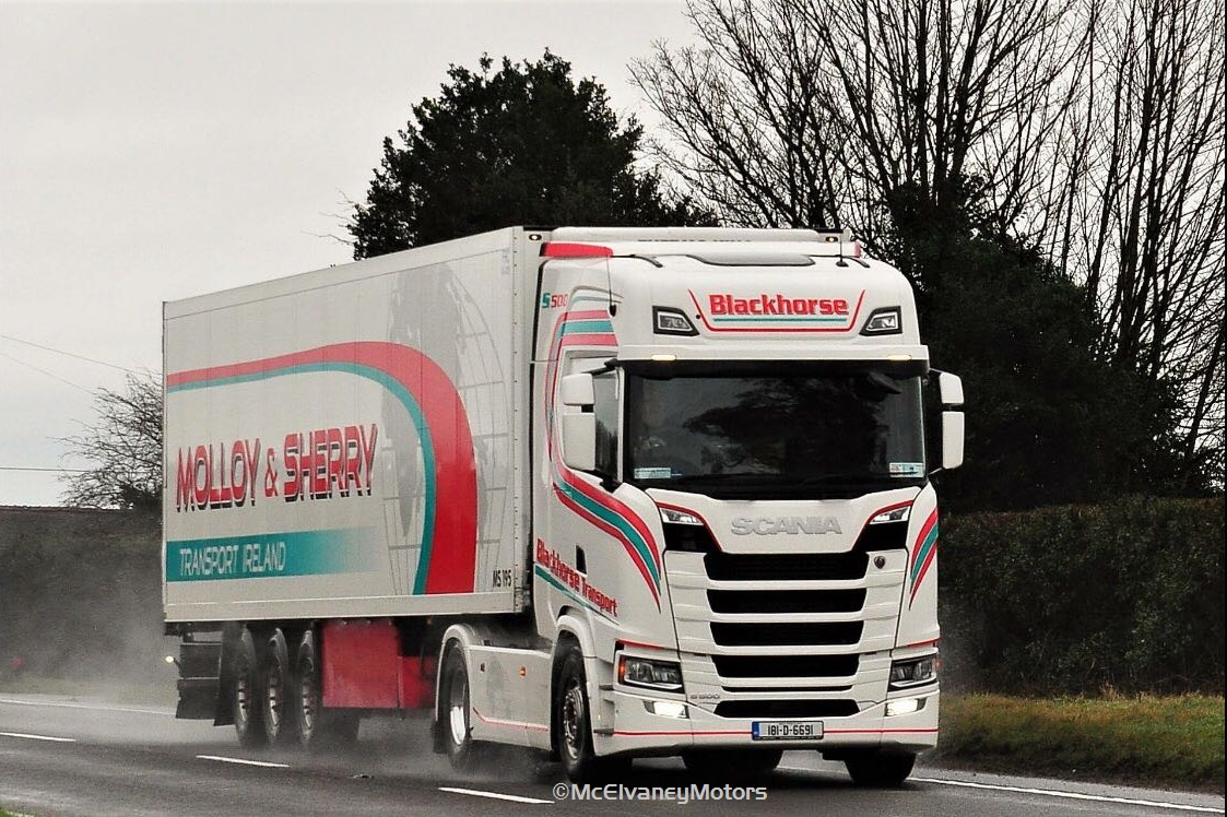 A Trio of Trucks for Blackhorse Transport