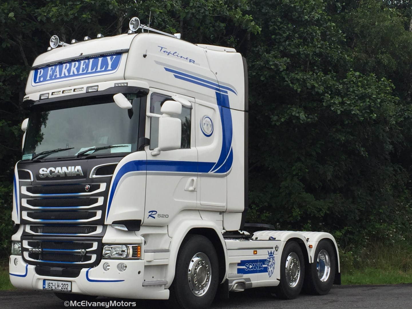 New Scania R520 for Paul Farrelly