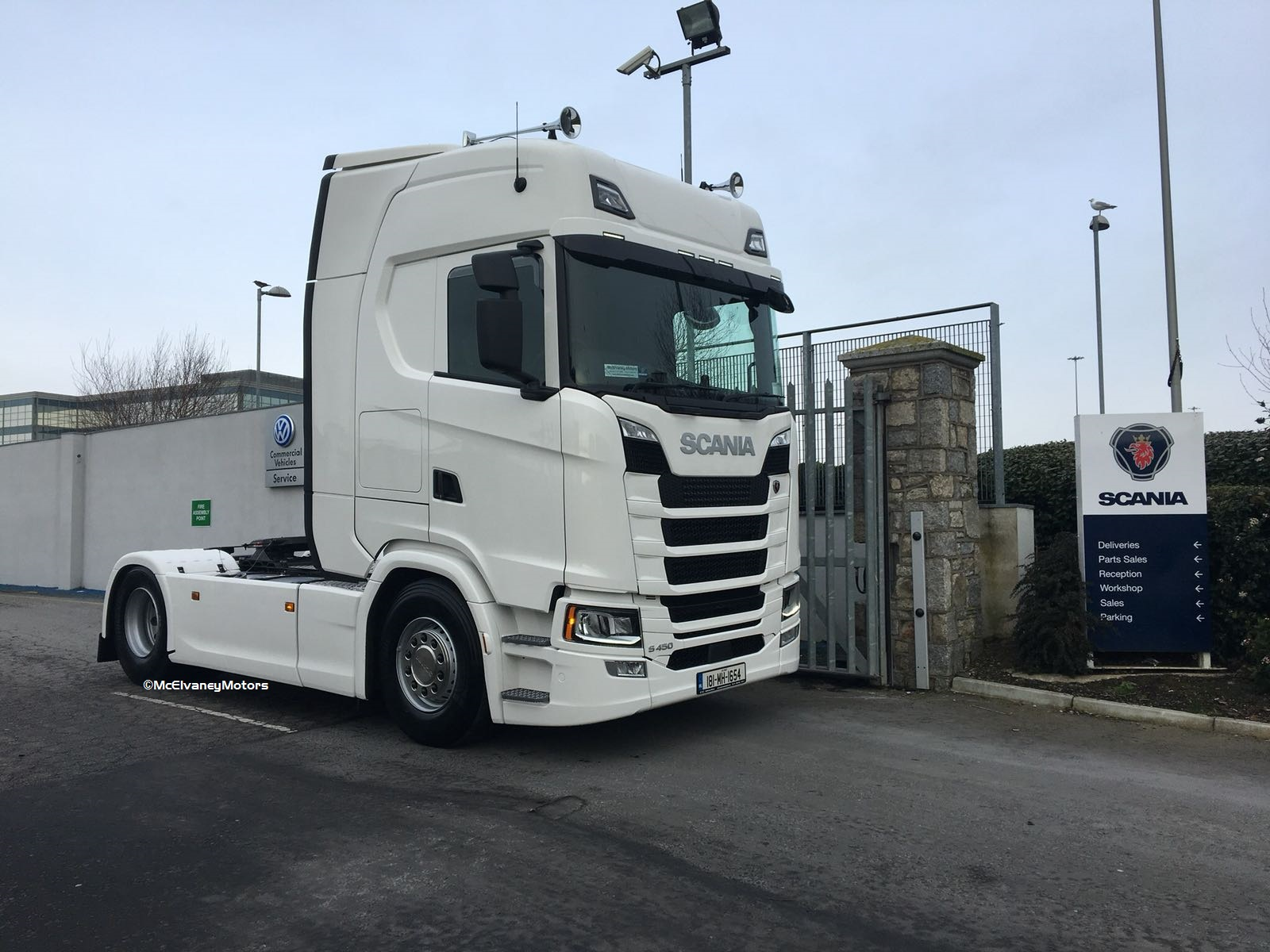 New Scania S540 for Paul Murray