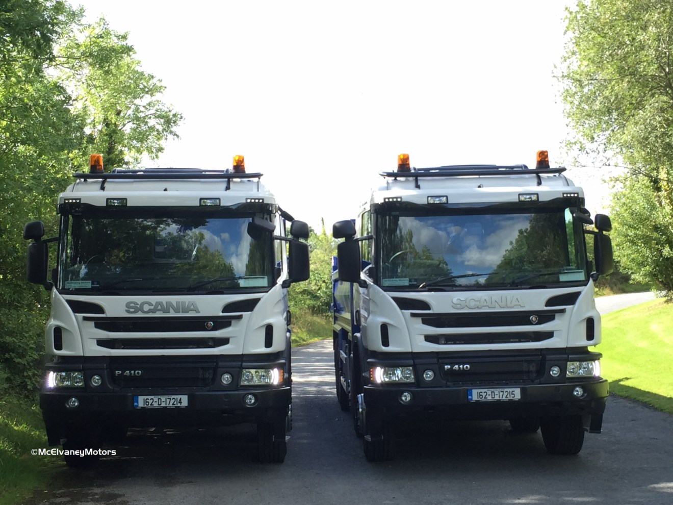 Another two new Scania R410 Tippers for Watson Concrete