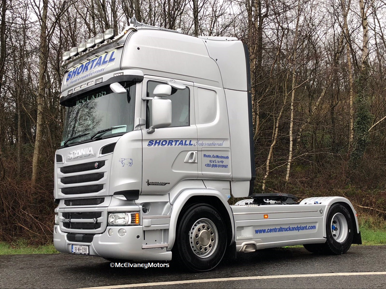 Shortall International Chooses New Crown Edition Scania