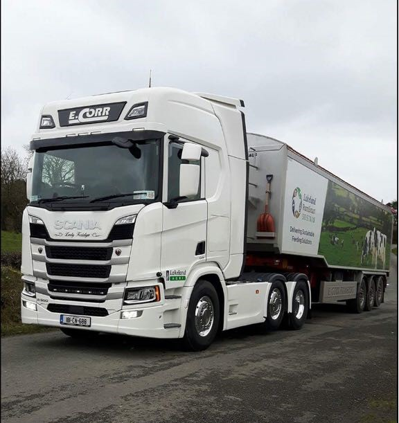 Eamonn Corr Purchases New Scania R500 Highline