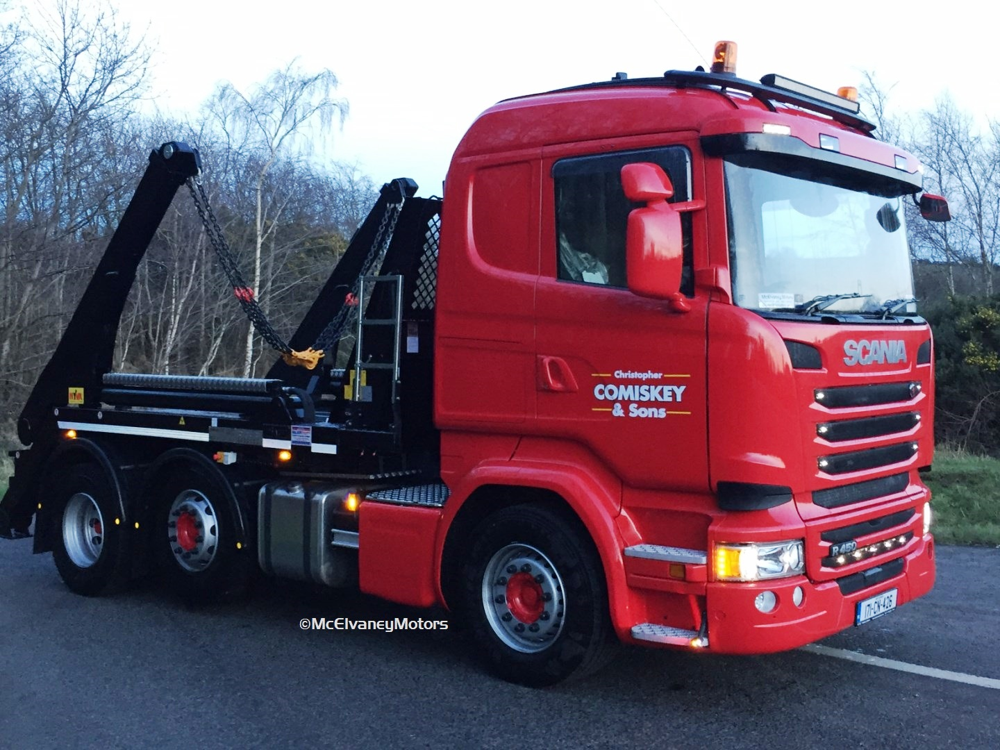 Christopher Comiskey & Sons Purchase new Scania Skip Truck!