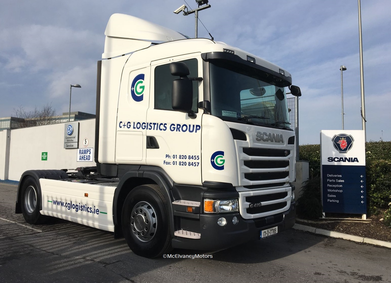 Another new Scania G410 for C & G Logistics