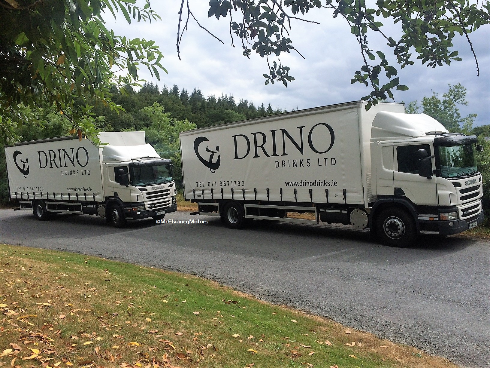 Two Scania P230s for Drino Drinks