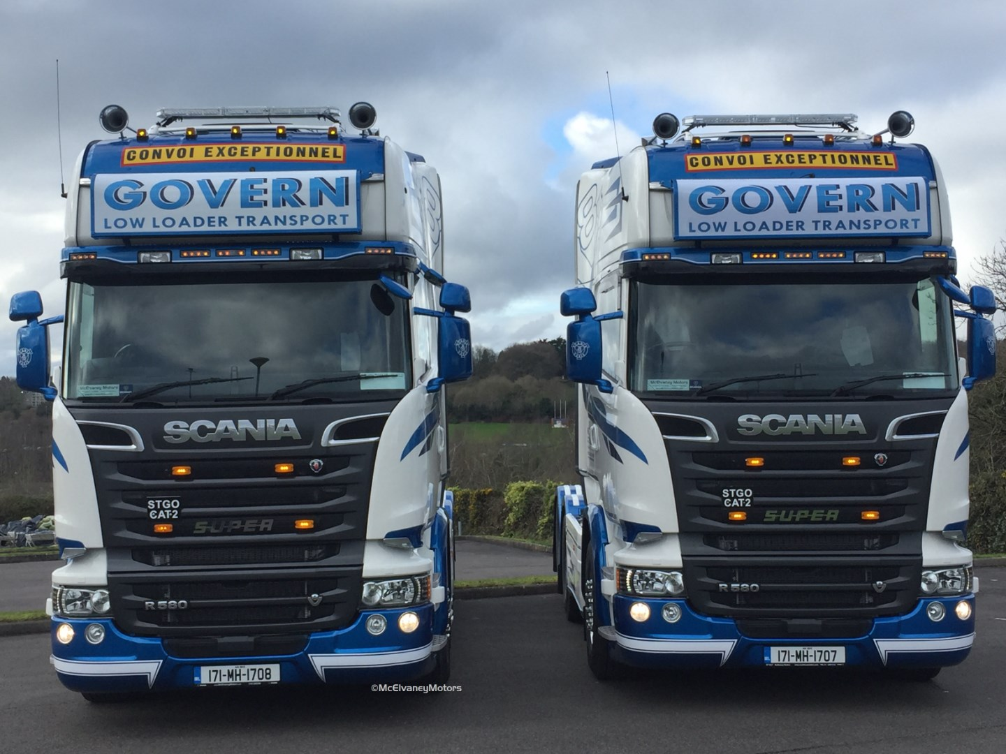 Two New Scania R580s for Govern!