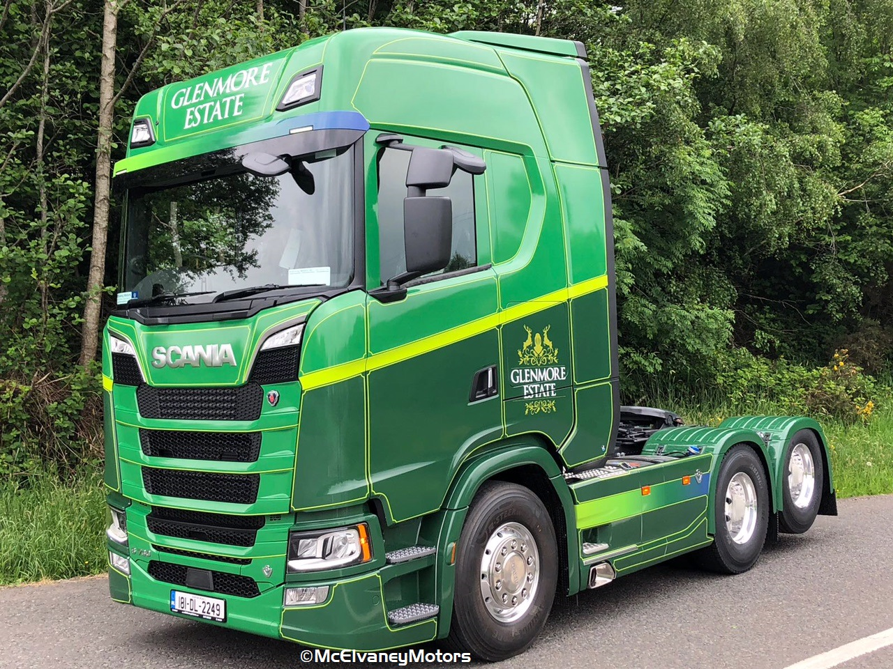 New Generation Scania S730 for Glenmore Estate