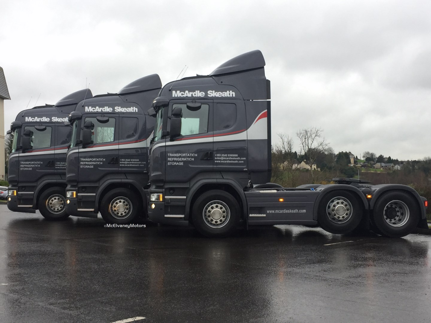 Three New Scania R450s for McArdle Skeath