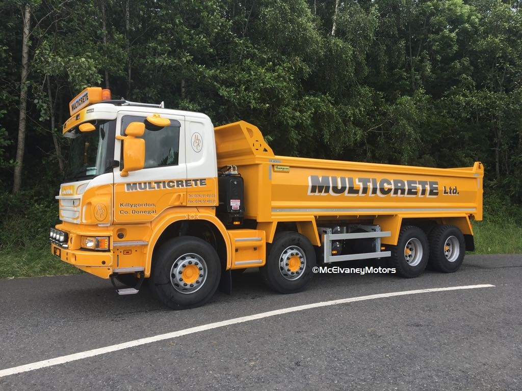 Stunning New Scania P410 for Multicrete